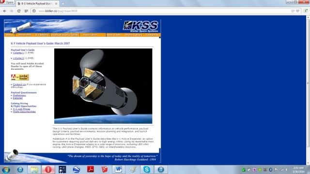 033014 Kistler Space SystemB